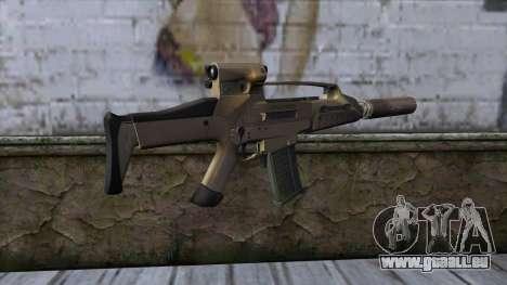 XM8 Compact Dust pour GTA San Andreas deuxième écran