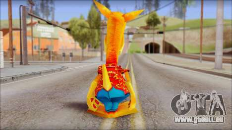 Bungalow the Kangaroo from Fur Fighters Playable pour GTA San Andreas troisième écran