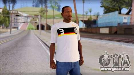 A.Friedrich Trikot T-Shirt pour GTA San Andreas