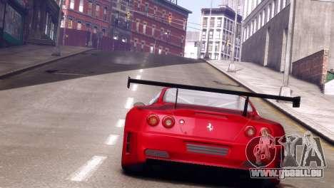 Ferrari 575 GTC für GTA 4 hinten links Ansicht