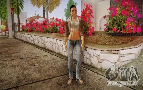 Alyx Vance CM (Adriana Lima) v.1.0 pour GTA San Andreas