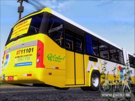 Прицеп Neobus Mega BHNS Volvo B12-340M pour GTA San Andreas