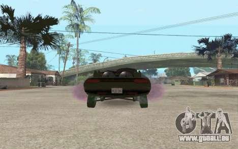 Interceptor pour GTA San Andreas sur la vue arrière gauche