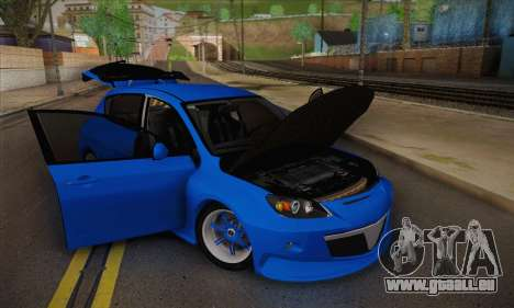 Mazda Speed 3 Tuning pour GTA San Andreas vue de droite