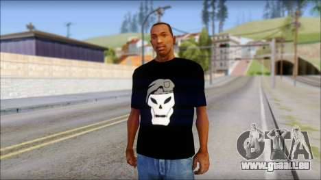 Black Ops T-Shirt für GTA San Andreas