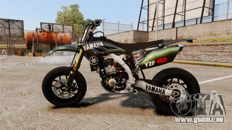 Yamaha YZF-450 v1.7 für GTA 4 linke Ansicht