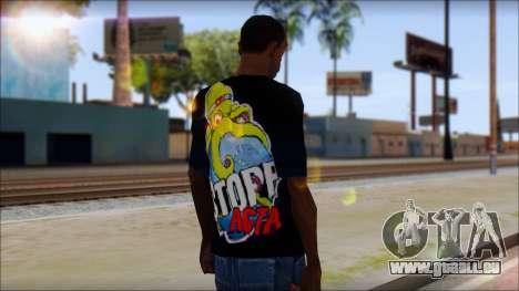 Anti ACTA T-Shirt für GTA San Andreas zweiten Screenshot