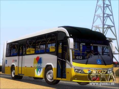Neobus Mega BRT Volvo B12M-340M pour GTA San Andreas vue arrière