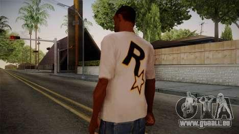 Rockstar Games Shirt pour GTA San Andreas deuxième écran