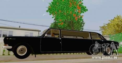 GAZ 24-01 Limousine pour GTA San Andreas laissé vue