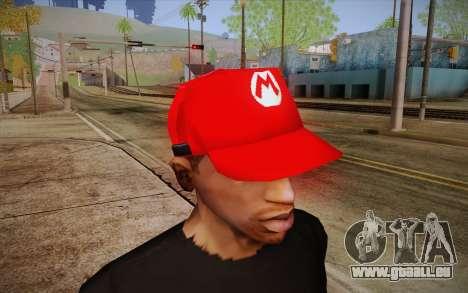 Super Mario Cap pour GTA San Andreas