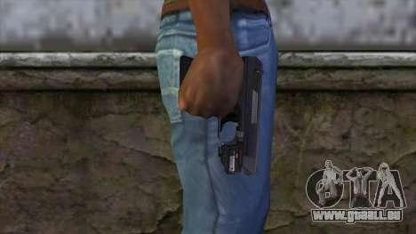 VP-70 Pistol from Resident Evil 6 v1 pour GTA San Andreas troisième écran