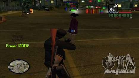 Indicators pour GTA San Andreas troisième écran