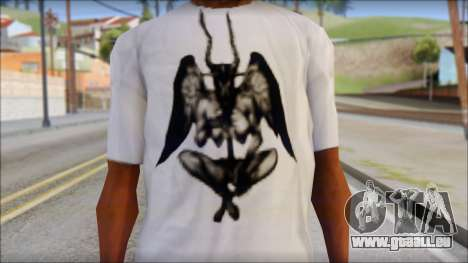 Silent Hill T-shirt für GTA San Andreas dritten Screenshot
