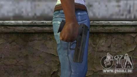 HK P2000 from CS:GO v1 für GTA San Andreas dritten Screenshot