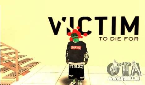 Grove Street Gang Skin pack für GTA San Andreas her Screenshot