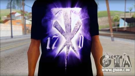Wrestle Mania T-Shirt v1 pour GTA San Andreas troisième écran