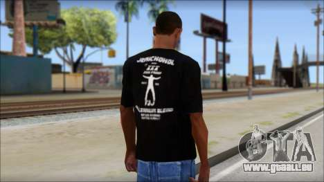 Chris Jericho Jerichohol T-Shirt pour GTA San Andreas deuxième écran
