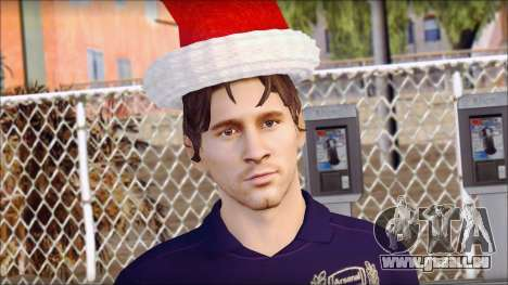 Messi Arsenal Christmas Special pour GTA San Andreas troisième écran