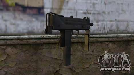 Mac-10 from CS:GO v2 für GTA San Andreas zweiten Screenshot