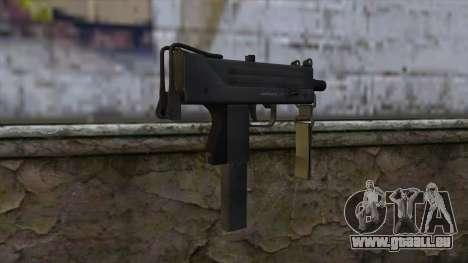 Mac-10 from CS:GO v2 pour GTA San Andreas deuxième écran