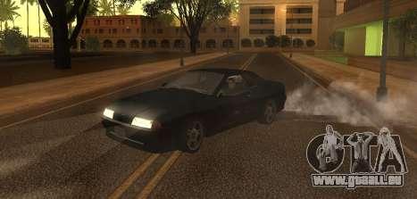 Cleo Drift pour GTA San Andreas troisième écran