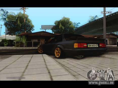 BMW e30 UDC für GTA San Andreas zurück linke Ansicht
