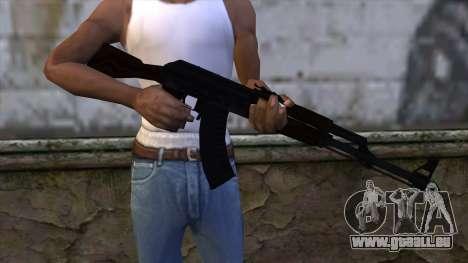 AK47 from CS:GO v2 für GTA San Andreas dritten Screenshot