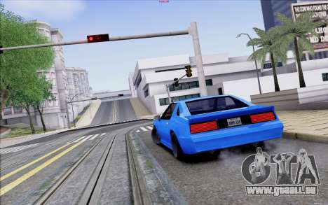 Buffalo Drift Style pour GTA San Andreas vue de côté