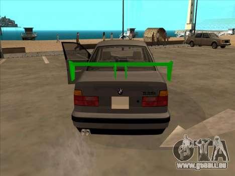 BMW 535i für GTA San Andreas zurück linke Ansicht