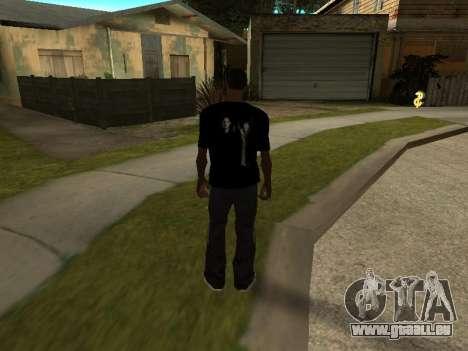 T-Shirt Supernatural für GTA San Andreas zweiten Screenshot