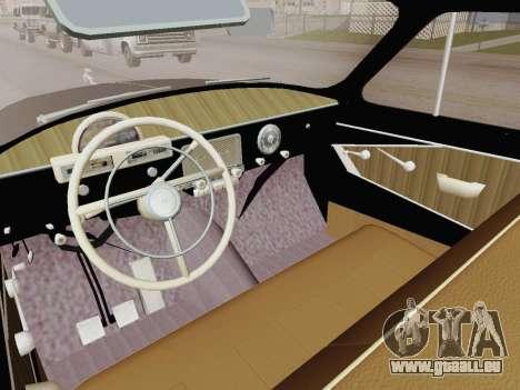 GAZ 21 Limousine pour GTA San Andreas vue de droite