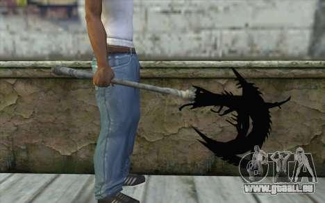 Dante Demonic Axe pour GTA San Andreas troisième écran