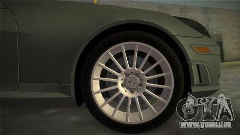 Mercedes-Benz SLK55 AMG pour GTA Vice City sur la vue arrière gauche