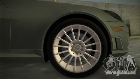 Mercedes-Benz SLK55 AMG für GTA Vice City zurück linke Ansicht