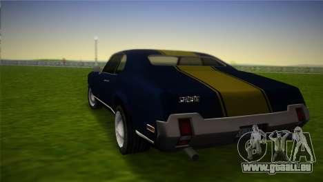 HD Sabre Turbo pour une vue GTA Vice City de la gauche