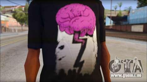 BrainoNimbus T-Shirt pour GTA San Andreas troisième écran