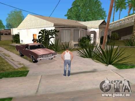 DLock pour GTA San Andreas deuxième écran