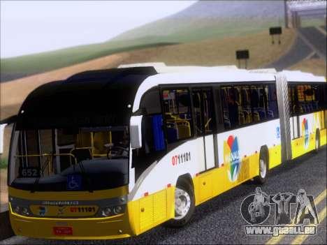 Neobus Mega BRT Volvo B12M-340M pour GTA San Andreas laissé vue