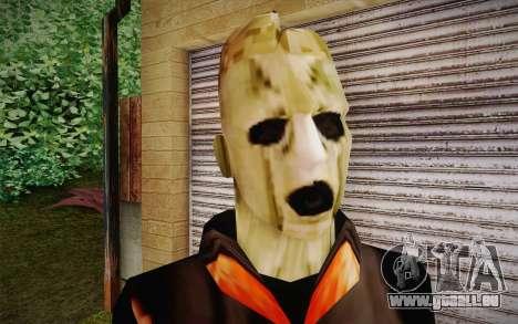 Corey Taylor Skin pour GTA San Andreas troisième écran
