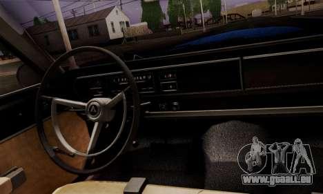 Dodge Coronet 440 Hardtop Coupe (WH23) 1967 für GTA San Andreas Rückansicht