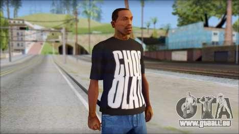 Chocolate T-Shirt pour GTA San Andreas