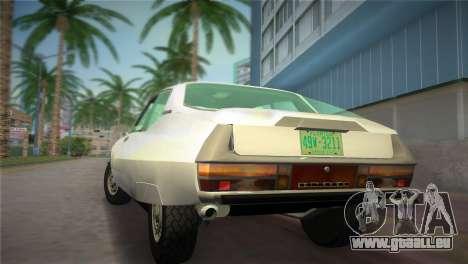 Citroen SM 1972 pour une vue GTA Vice City de la gauche