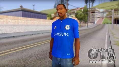 Chelsea F.C Drogba 11 T-Shirt für GTA San Andreas