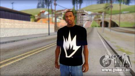 Afends T-Shirt pour GTA San Andreas