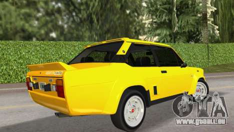 Fiat 131 Abarth Rally 1976 für GTA Vice City linke Ansicht