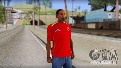Chile T-Shirt für GTA San Andreas