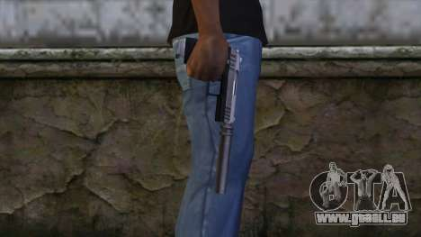 Silenced Combat Pistol from GTA 5 für GTA San Andreas dritten Screenshot