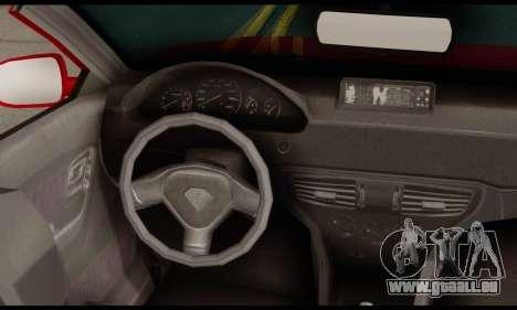 Lampadati Felon GT 1.1 pour GTA San Andreas sur la vue arrière gauche