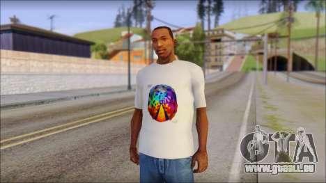 Muse Resistance T-Shirt für GTA San Andreas
